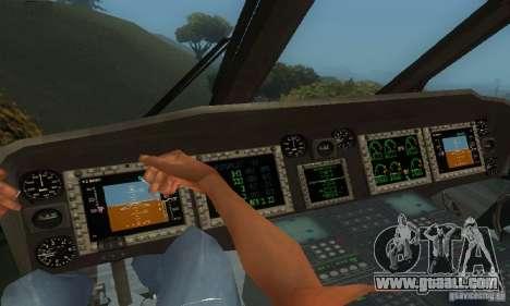 UH-60M Black Hawk for GTA San Andreas side view