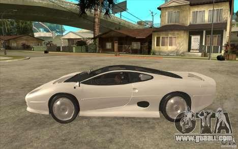 Jaguar XJ 220 for GTA San Andreas left view