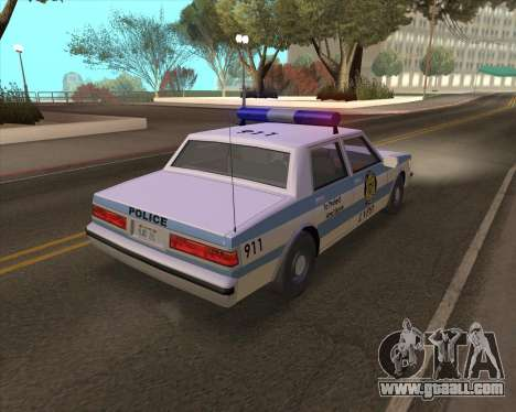 Updated LVPD for GTA San Andreas right view