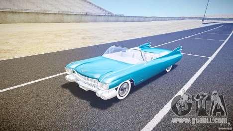 Cadillac Eldorado 1959 interior white for GTA 4 left view