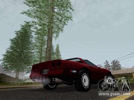 Chevrolet Corvette C4 1984 for GTA San Andreas right view