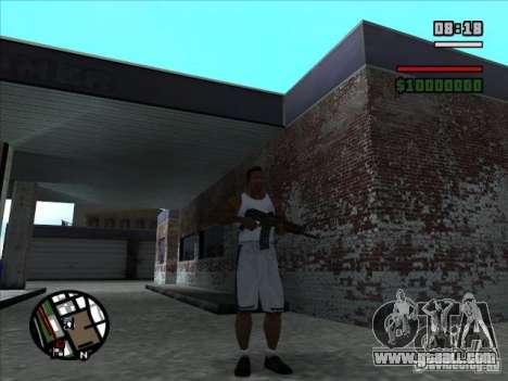 AK-74 (no stock) for GTA San Andreas second screenshot