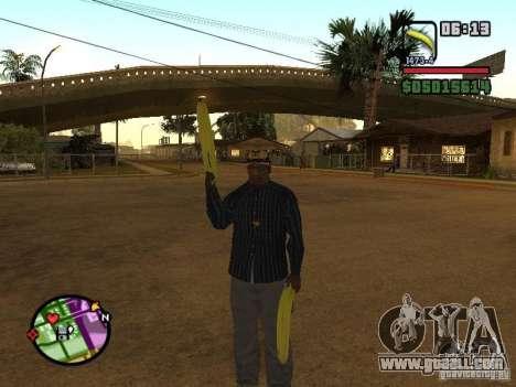 Bunana Gun for GTA San Andreas third screenshot