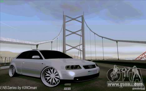Audi A3 DUB Edition for GTA San Andreas side view