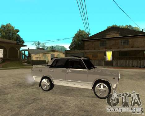 VAZ 2107 Light Tuning v2.0 for GTA San Andreas right view