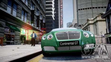 Bentley Continental GT for GTA 4 interior