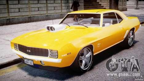 Chevrolet Camaro for GTA 4 left view