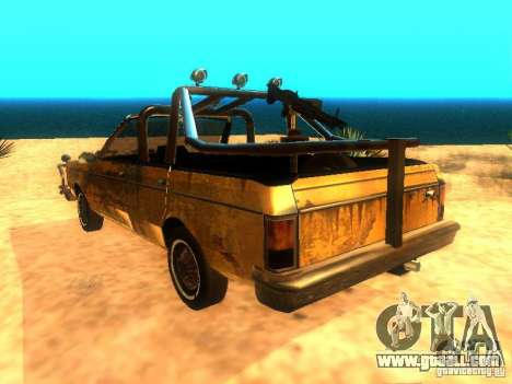 Regina War for GTA San Andreas left view