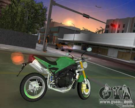 Triumph Speed Triple for GTA Vice City left view
