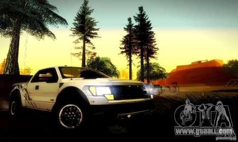 Ford F-150 SVT Raptor V1.0 for GTA San Andreas right view