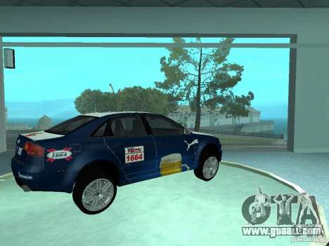 Audi RS4 for GTA San Andreas side view