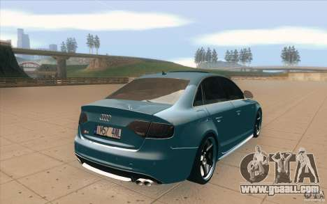 Audi S4 2009 for GTA San Andreas side view