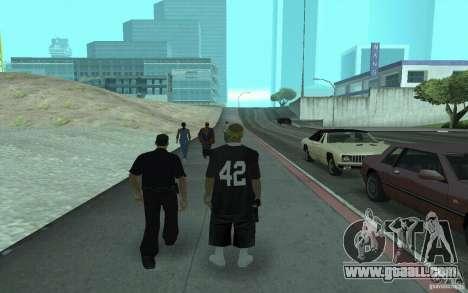 New skins Los Santos Vagos for GTA San Andreas second screenshot