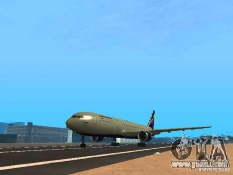 Boeing 767-300 Aeroflot for GTA San Andreas