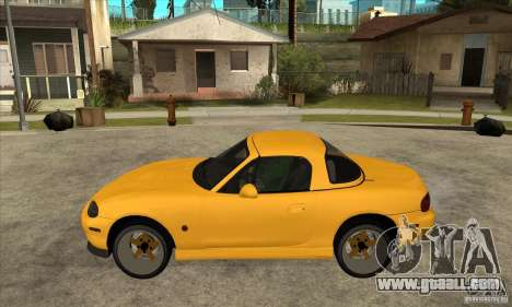 Mazda MX-5 JDM Coupe for GTA San Andreas left view