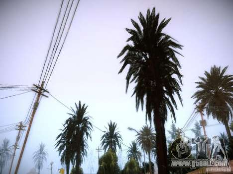 New trees HD for GTA San Andreas third screenshot