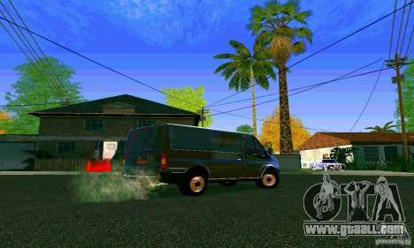Ford Transit SWB 2011 for GTA San Andreas right view