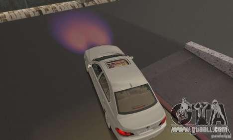 Purple lights for GTA San Andreas