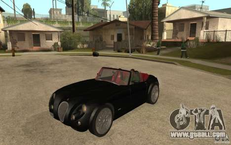 Wiesmann Roadster MF3 for GTA San Andreas