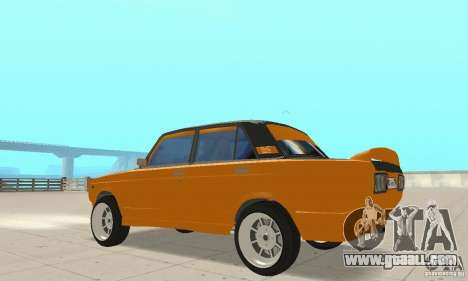 VAZ 2107 Off Road for GTA San Andreas back view