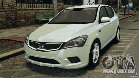 Kia Ceed 2011 for GTA 4
