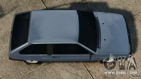 Vaz-2108 Sputnik for GTA 4 right view