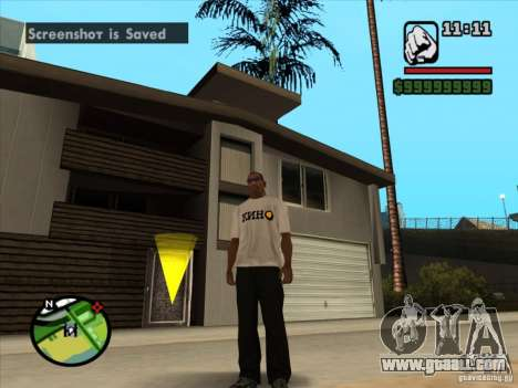 T-shirt MOVIES for GTA San Andreas second screenshot