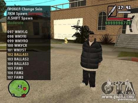 GTA IV peds to SA pack 100 peds for GTA San Andreas