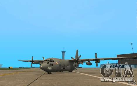 AC-130 Spectre for GTA San Andreas