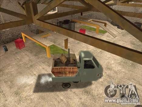 Ape Piaggio for GTA San Andreas right view
