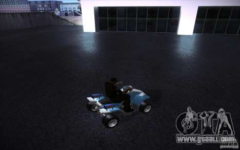 Quad Bike Custom for GTA San Andreas right view