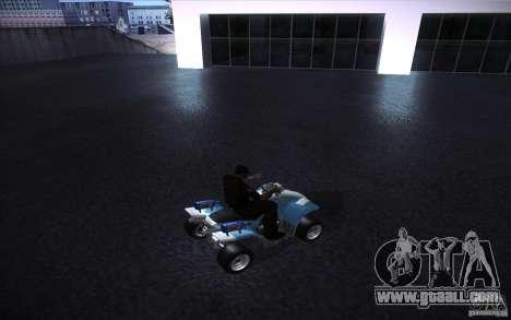 Quad Bike Custom for GTA San Andreas right view