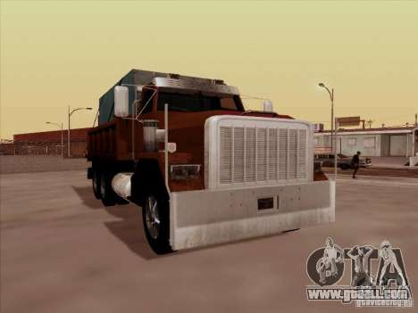 New Flatbed for GTA San Andreas left view