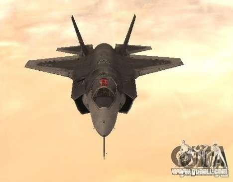 F-35 Eagle for GTA San Andreas