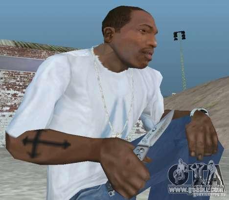Knife for GTA San Andreas second screenshot