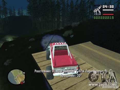 Monster tracks v1.0 for GTA San Andreas
