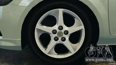 Kia Ceed 2011 for GTA 4 inner view