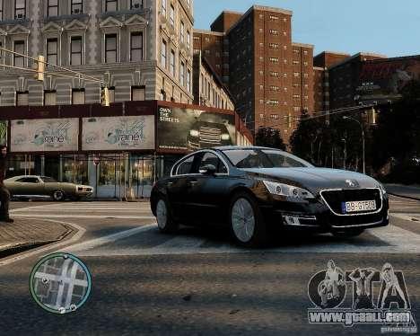 Pegeout 508 v2.0 for GTA 4