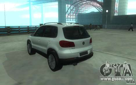 Volkswagen Tiguan 2012 for GTA San Andreas left view