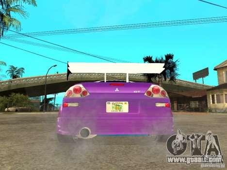 Mitsubishi Spider for GTA San Andreas back left view
