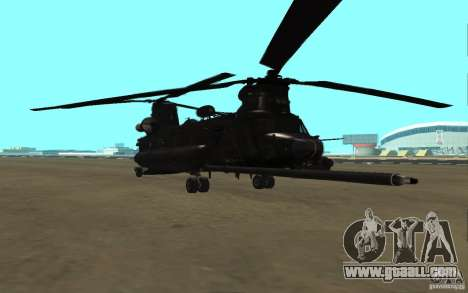 MH-47G Chinook for GTA San Andreas left view