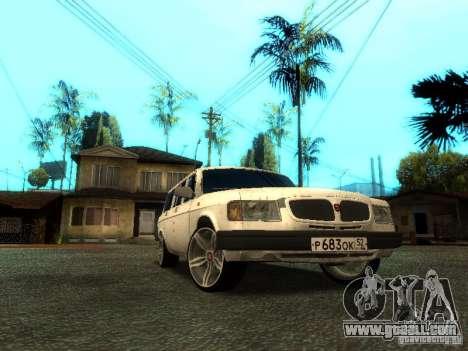 GAZ VOLGA 310221 TUNING version for GTA San Andreas