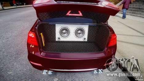 BMW 335i 2013 v1.0 for GTA 4 inner view