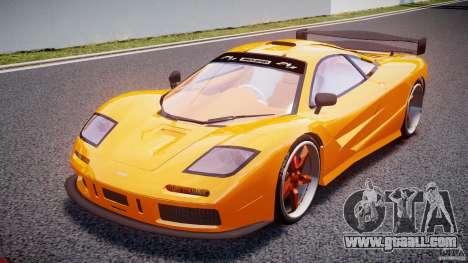 Mc Laren F1 LM v1.0 for GTA 4
