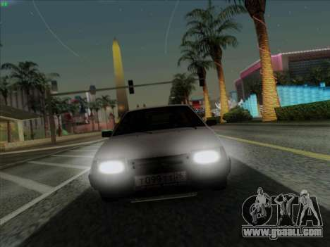 VAZ 21099 Drain for GTA San Andreas right view