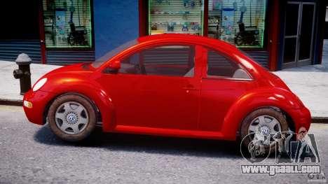Volkswagen New Beetle 2003 for GTA 4 left view