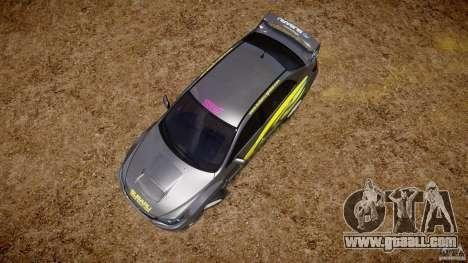 Subaru Impreza WRX STi 2011 Subaru World Rally for GTA 4 interior