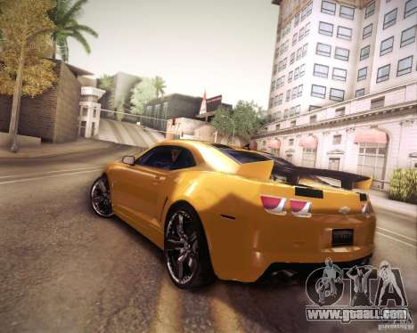 Chevrolet Camaro 2SS 2012 Bumblebee v.2.0 for GTA San Andreas left view