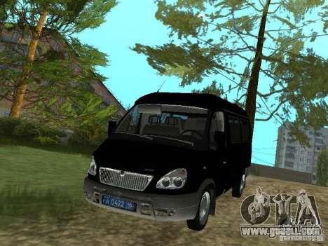 GAZ 2217 FSB for GTA San Andreas