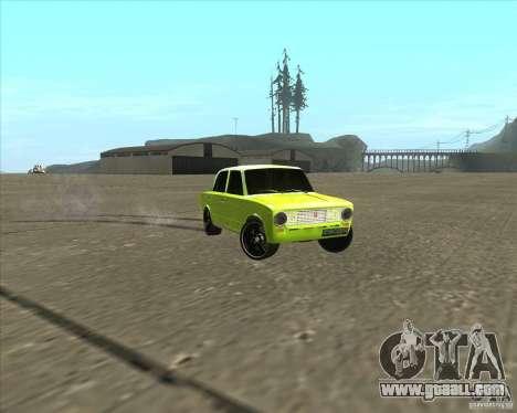 VAZ 2101 car tuning version for GTA San Andreas right view